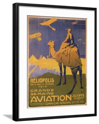 Grande Semaine D'Aviation- Harald-Framed Art Print