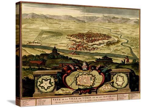 Ivrea Near Turin - 1700-Anna Beeck-Stretched Canvas Print