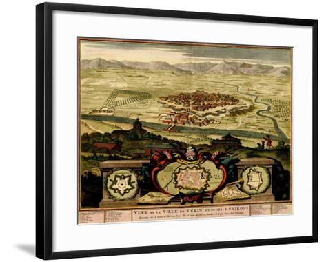 Ivrea Near Turin - 1700-Anna Beeck-Framed Art Print