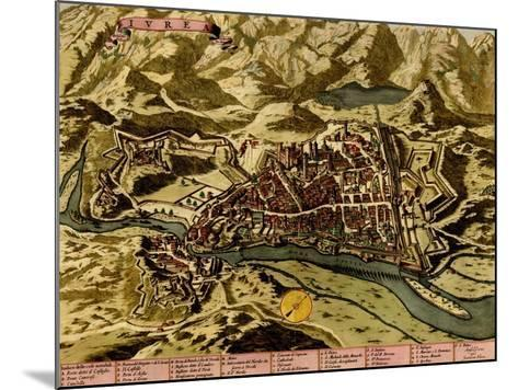 Turin or Torino and its Envisons - 1700-Anna Beeck-Mounted Art Print