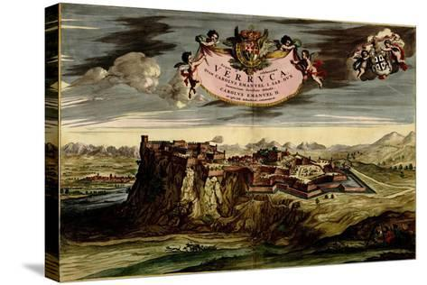 Turin or Torino and its Envisons - 1700-Anna Beeck-Stretched Canvas Print