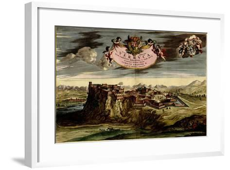 Turin or Torino and its Envisons - 1700-Anna Beeck-Framed Art Print