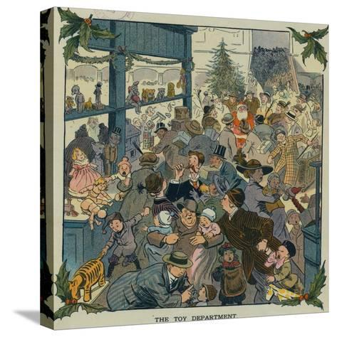 Toy Department-Louis M. Glackens-Stretched Canvas Print