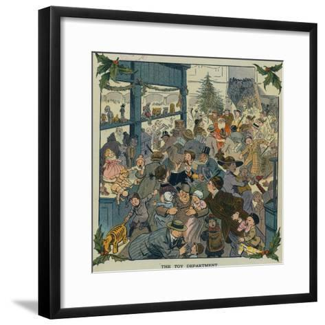 Toy Department-Louis M. Glackens-Framed Art Print