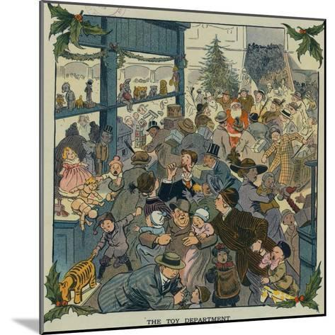 Toy Department-Louis M. Glackens-Mounted Art Print