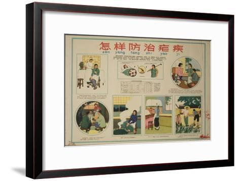 Prevention of Malaria--Framed Art Print