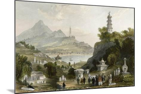 Temple Thundering Winds-Thomas Allom-Mounted Art Print