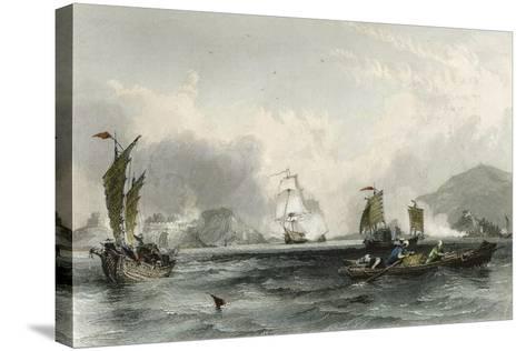 Imogene and Andromache Bocca Tigris-Thomas Allom-Stretched Canvas Print