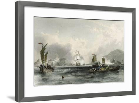 Imogene and Andromache Bocca Tigris-Thomas Allom-Framed Art Print