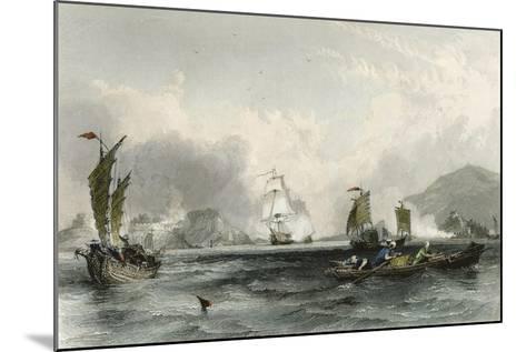 Imogene and Andromache Bocca Tigris-Thomas Allom-Mounted Art Print