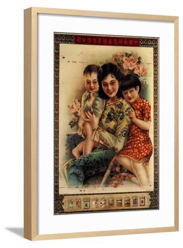 Nanyang Brothers Tobacco Company--Framed Art Print