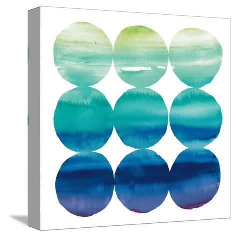 Summer Dots III-Elyse DeNeige-Stretched Canvas Print