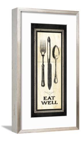 Eat Well-Jo Moulton-Framed Art Print
