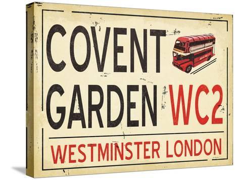Covent Garden-Jo Moulton-Stretched Canvas Print