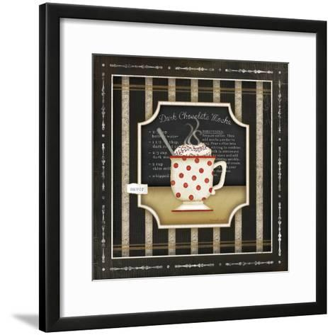 Kitchen Cuisine Coffee III-Jennifer Pugh-Framed Art Print