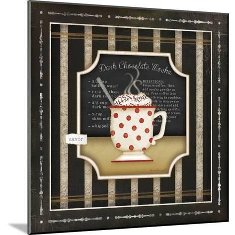 Kitchen Cuisine Coffee III-Jennifer Pugh-Mounted Art Print