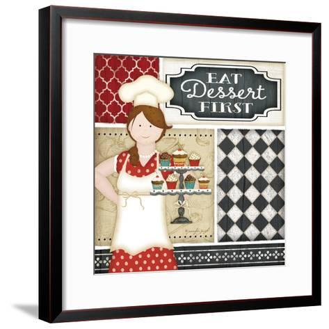 Bistro Chef-Jennifer Pugh-Framed Art Print