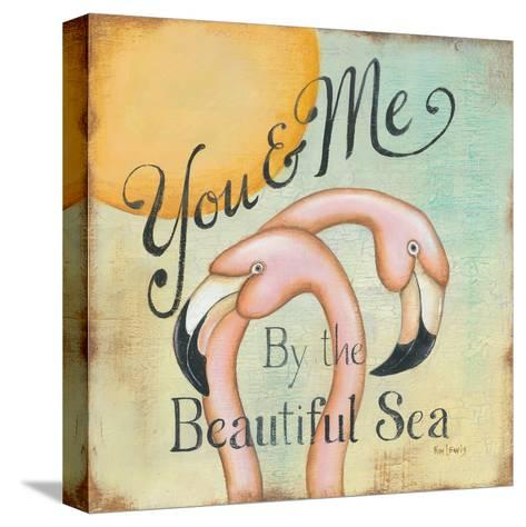 You and Me-Kim Lewis-Stretched Canvas Print