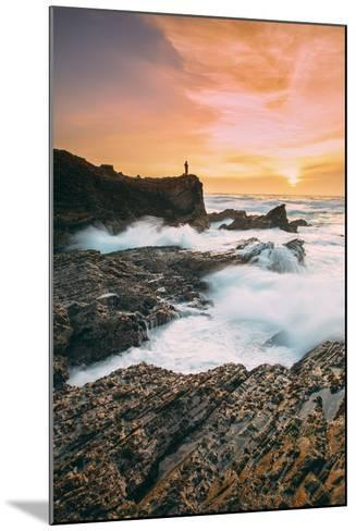 Setting Sunscapet at Monta?a de Oro, Morro Bay California Coast-Vincent James-Mounted Photographic Print