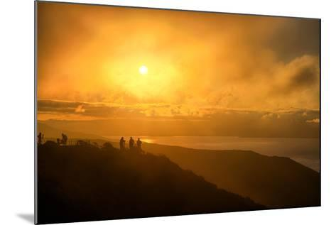 I'm On Fire, Misty Sun at Marin Headlands, San Francisco-Vincent James-Mounted Photographic Print