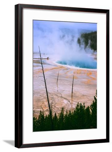 The Amazing Grand Prismatic Spring, Yellowstone National Park-Vincent James-Framed Art Print