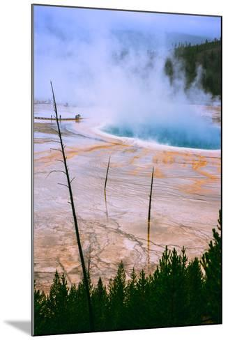 The Amazing Grand Prismatic Spring, Yellowstone National Park-Vincent James-Mounted Photographic Print