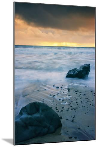 Stormy Seascape at Pfeiffer Beach Big Sur California Coast-Vincent James-Mounted Photographic Print