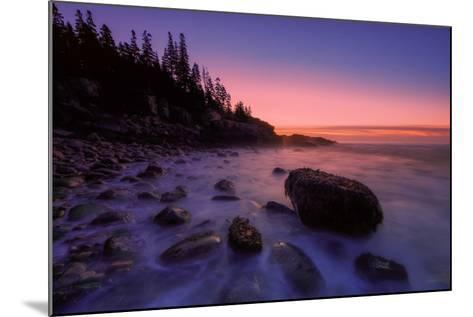 Atlantic Coast Sunrise, Maine, Acadia National Park-Vincent James-Mounted Photographic Print