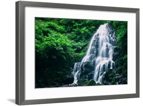 Ethereal Fairy Falls, Columbia River Gorge, Oregon-Vincent James-Framed Art Print