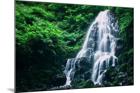Ethereal Fairy Falls, Columbia River Gorge, Oregon-Vincent James-Mounted Photographic Print