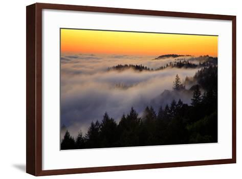 Mount Tamalpais After Sunset, Northern California-Vincent James-Framed Art Print
