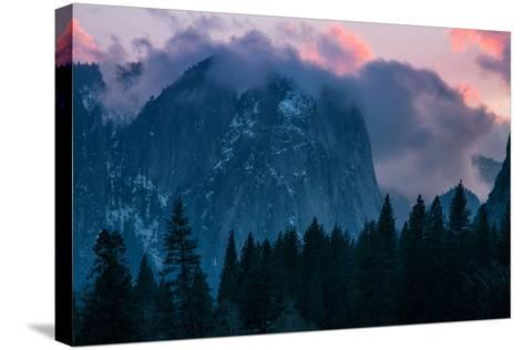 Valley Sunset, Yosemite National Park, California-Vincent James-Stretched Canvas Print
