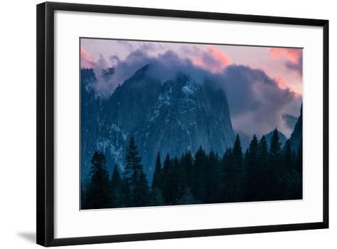 Valley Sunset, Yosemite National Park, California-Vincent James-Framed Art Print