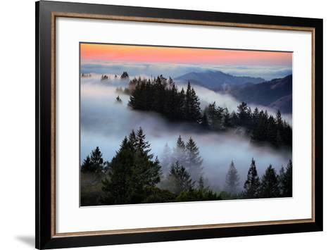 In A Dream of Fog Mount Tamalpais San Francisco-Vincent James-Framed Art Print