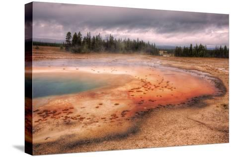 Prsim Pool Yellowstone National Park, Wyoming-Vincent James-Stretched Canvas Print