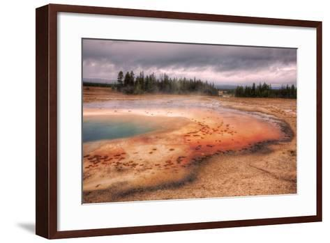 Prsim Pool Yellowstone National Park, Wyoming-Vincent James-Framed Art Print