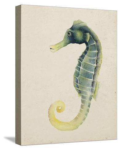 Sea Dweller V-Grace Popp-Stretched Canvas Print