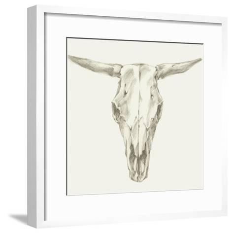 Western Skull Mount II-Ethan Harper-Framed Art Print