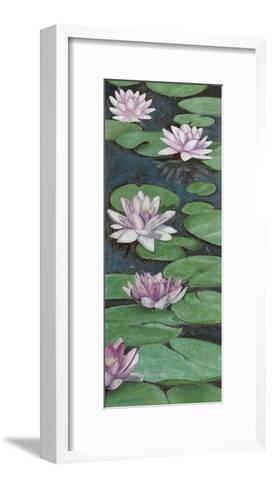 Tranquil Lilies II-Naomi McCavitt-Framed Art Print