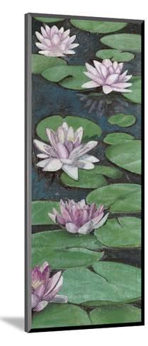 Tranquil Lilies II-Naomi McCavitt-Mounted Art Print