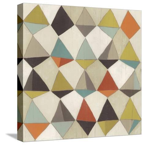 Pattern Undulation II-June Erica Vess-Stretched Canvas Print
