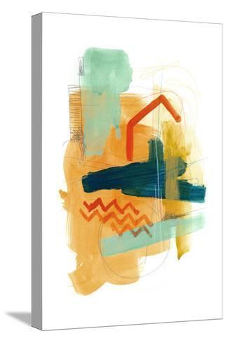 Fringe Aspect V-June Erica Vess-Stretched Canvas Print