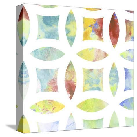 Metric Watercolors IV-Jennifer Goldberger-Stretched Canvas Print