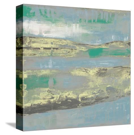 Cool Horizon I-Jennifer Goldberger-Stretched Canvas Print