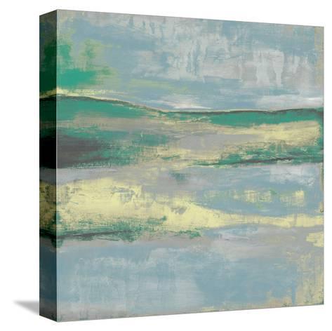 Cool Horizon II-Jennifer Goldberger-Stretched Canvas Print