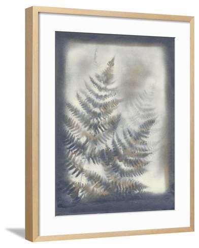 Shadows and Ferns VI-Renee W^ Stramel-Framed Art Print