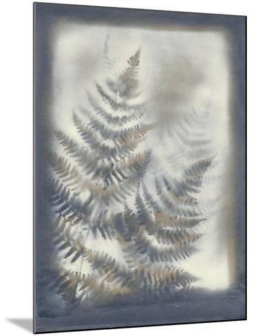 Shadows and Ferns VI-Renee W^ Stramel-Mounted Art Print