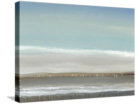 Distant Coast I--Stretched Canvas Print
