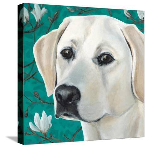 Dlynn's Dogs - Magnolia-Dlynn Roll-Stretched Canvas Print