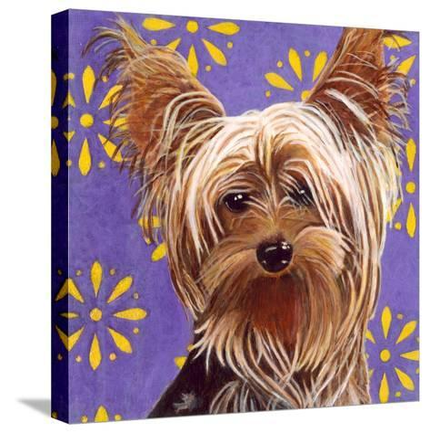 Dlynn's Dogs - Ringo-Dlynn Roll-Stretched Canvas Print